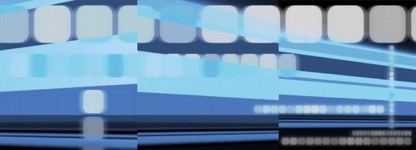 blue squares design